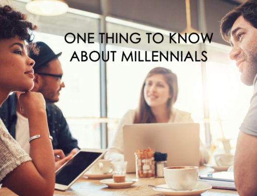 One Thing To Know About Millennials